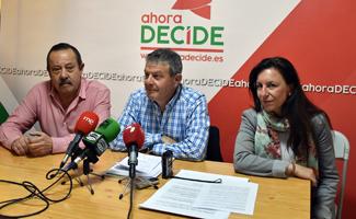 Ahora Decide denuncia el incumplimiento del pacto entre IU-PSOE en un 60%