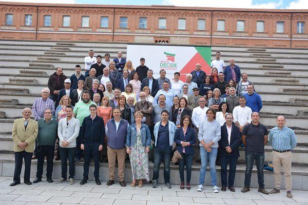Puesta de largo de Ahora Decide en el Campus Viriato, el nuevo partido ha conseguido presentar 368 zamoranos en 72 candidaturas